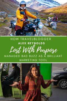 How Alex Reynolds, Lost With Purpose, managed bad buzz as a brilliant marketing tool? Pakistan Tourism, Marketing Tools, Citizen, Travel Guide, Purpose, Promotion, Lost, American, Business