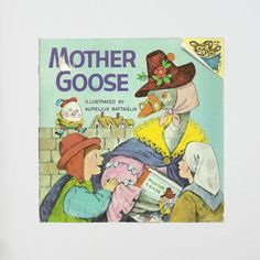 New in The Book Cottage: Mother Goose Please Read to Me Book | 1970s Children's Bedtime Stories | Kids Humpty Dumpty Short Fairy Tales & Adventures | Cute Book Gift by TheBookCottage