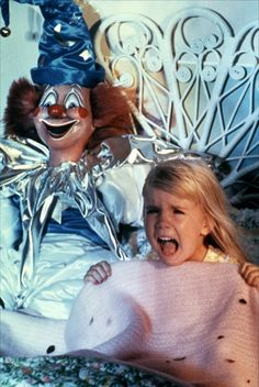 Poltergeist (1982)  I would have died if I woke up to that in my bed.  Who am I kidding?  I still would die if I woke up to that in my bed.