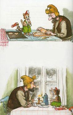 Pettson and Findus (bilderböcker) by Sven Nordqvist, Sweden