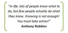 Life : Quote from tony robbins