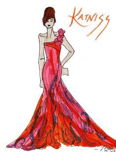 Katniss first tribute interview