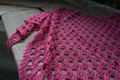 Mizutama Schal Knitting, Crochet, Blog, Fashion, Silk, Handarbeit, Flowers, Moda, Tricot