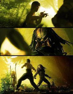 Bruce Lee vs. Predator