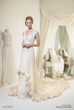 Leila Hafzi 2016 Wedding Dress #wedding #dresses #bridal #gown #dress