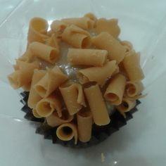 Brigadeiro gourmet caramelo