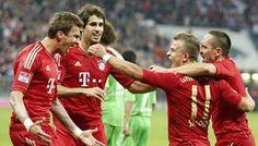 Champions League Kracher! Arsenal empfängt die starken, favorisierten Bayern! Die Bayern steuern in dieser Saison auf das Triple zu. Arsenal hat hingegen seit 2005 (FA-Cup-Sieg) nichts mehr gerissen. Was meint Ihr wie die Partie ausgeht?  https://www.mybet.com/de/sportwetten/wettprogramm/fussball/europa/champions-league