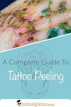 Seeing your new tattoo beginning to peel can be extremely concerning, but you shouldn't worry. This article explains why tattoos peel, and what to do when they're peeling. Tattoo Signs, Zodiac Sign Tattoos, Mini Tattoos, Body Art Tattoos, New Tattoos, Cool Tattoos, Messed Up Tattoos, Tattoo Care Instructions, Tattoos