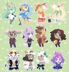 """fallershipping: """" Pokemon Crossing: Alola Horizons except not everyone is from Alola also favortism """" Pokemon Mew, Animal Crossing Villagers, Animal Crossing Pocket Camp, Pokemon People, Cute Pokemon Wallpaper, Fandom Crossover, Cute Messages, Guild Wars, Anime"""