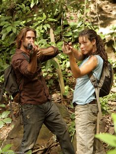 Sawyer and Kate from lost tv show | Tumblr
