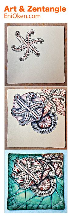 Learn how to create gorgeous Zentangle®️ • enioken.com