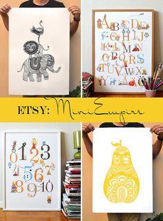 Fina affischer från MiniEmpire.