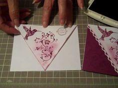Scallop Lace Front Card Technique