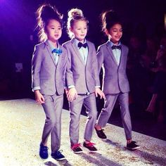 Girls in suits  OMG HOW CUTE IS THIS!!!!!