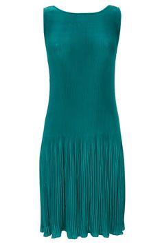 Green Baby Pleat Dress