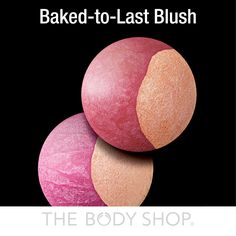 BAKED-to-LAST-BLUSH: this handmade and slow-baked blusher duo warms up the complexion with deliciously rich colours