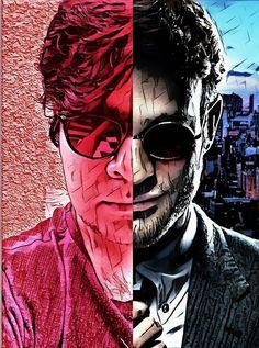 #Me #MattMurdock #Charliecox #Netflix #Art #Edit #Twoface