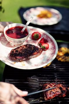Piersi kaczki z grilla | Kwestia Smaku Ramen, Grilling, Ethnic Recipes, Food, Crickets, Meals, Grill Party