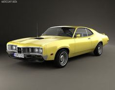Mercury Montego Coupe 1970 by The model was created on real car base. It's created accurately, in real units of measurement, qualitatively and maximally clos 1970 Ford Mustang, Ford Mustang Boss, Mercury Montego, Mercury Cars, Ford Lincoln Mercury, Chevrolet Impala, Fast Cars, Cool Cars, American Girl