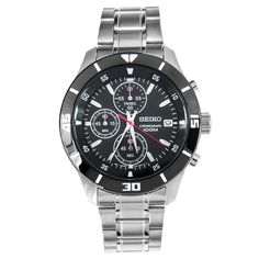 Seiko Quartz Chronograph Mens Watch SKS405 SKS405P SKS405P1 free shipping to Singapore, USA, Hong Kong, New Zealand, Australia, Canada