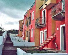 Apartamentos en Castelsardo, Cerdeña. 5 personas, 3 piezas, 2 dormitorios. #italy