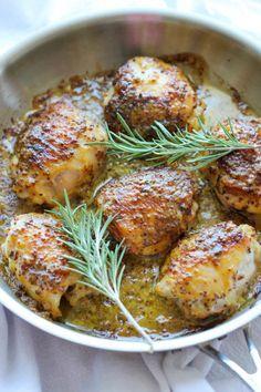 Honey Mustard Chicken 5 Ingredients