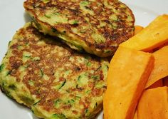 Vegetarian Recipes, Healthy Recipes, Good Food, Yummy Food, Fitness Diet, Salmon Burgers, Zucchini, Paleo, Food And Drink