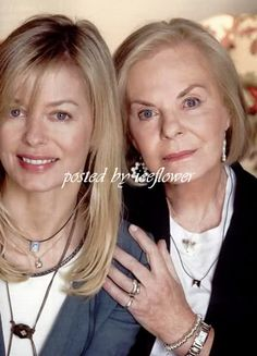 Duchess of Kent and her daughter Lady Helen