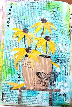 Elliam Art journaling