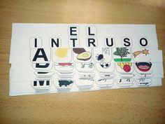 ARASAAC - Materiales: Busca el intruso que no empieza por la letra ... Spanish Class, Reggio Emilia, Language, Symbols, Education, School, Plaza, Leo, Kids