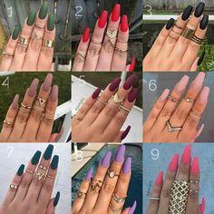 - Hair and beauty - Purple Acrylic Nails, Summer Acrylic Nails, Best Acrylic Nails, Acrylic Nail Designs, Pink Nails, Dream Nails, Love Nails, My Nails, Fancy Nails