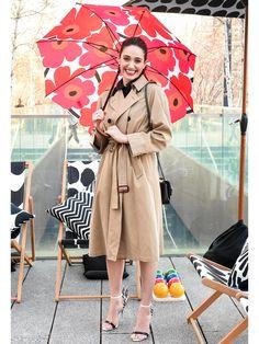 マリメッコの傘がかわいい!お気に入りの傘を買うと雨の日もテンションアップ!