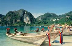 One of the #GreatPlacesOnly you should go is Ko Phi Phi Don!