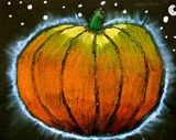 Artsonia Art Exhibit :: Glowing Pumpkin! -4