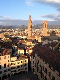 Badia Fiorentina e Palazzo del Bargello, Florence - http://florenceforfree.co/2015/04/16/the-badia-fiorentina-that-other-tower/