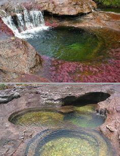 Parque nacional natural Sierra de La Macarena en el departamento del Meta - Colombia