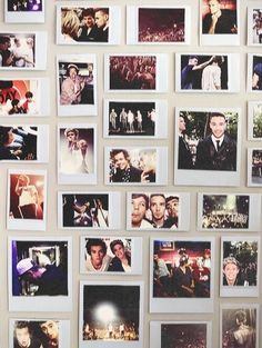 one direction polaroid collage - Google Search