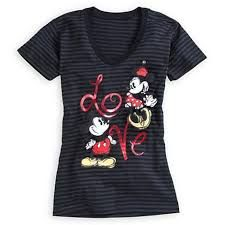 03812ff3a25 Disney Mickey and Minnie Mouse Tee for Women