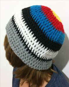 Gorro a crochet: Ganchillo de 6mm/ lana de 5mm 100% acrilica 70g aproximadamente/ Punto alto / By: GM