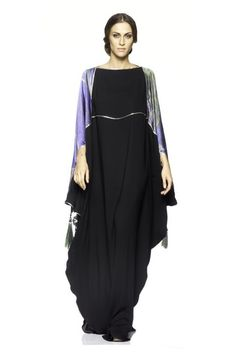 love the butterfly sleeves on this one. / MAUZAN @ bloomdale's Dubai