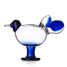Oiva Toikka, a glass sculpure of a bird, Nuutajärvi Notsjö, Finland. Glass Design, Design Art, All Themes, Wine And Spirits, Jouer, Finland, Modern Contemporary, Auction, Bird