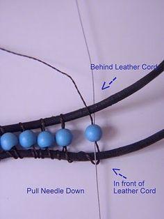 Tutorial: Chan Luu Turquoise Wrap Bracelet #Beading #Jewelry #Tutorials #BeadedJewelry