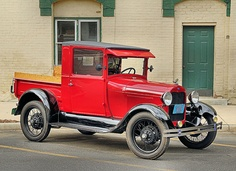 1928 - 1929 Ford Model A -Pick-up **...from around the time Dad was born...Wow