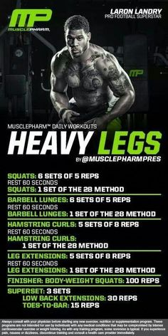 HIIT workouts include brief yet substantial workout sessions, which is why it is really essential for the pre-workout diet plan to be high in energy. Fitness Gym, Muscle Fitness, Physical Fitness, Gain Muscle, Health Fitness, Workout Diet Plan, Weekly Workout Plans, Workout Routines, Leg Day Workouts