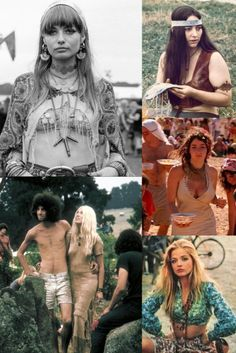 Happy Hippie, Hippie Love, Hippie Style, 1970s Hippie, Vintage Hippie, Woodstock Poster, Woodstock Hippies, Woodstock Pictures, Raves
