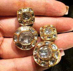 Maheep kapoor polki earrings