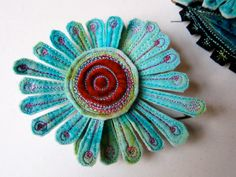 What an exquisite brooch!
