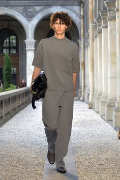 Dunhill Spring 2019 Menswear Fashion Show Collection: See the complete Dunhill Spring 2019 Menswear collection. Look 22