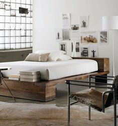 Beam Queen Platform Bed Platform Beds Railroad Ties And