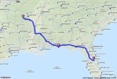Driving Directions from 110 Pine Shore Ln, Hot Springs, Arkansas 71913 to Orlando, Florida | MapQuest
